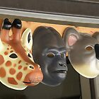 A Giraffe, A Gorilla And A Koala by AuntieJ