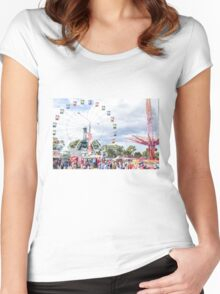 Funfair Women's Fitted Scoop T-Shirt