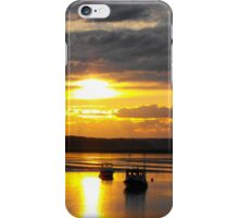 Silhouette at Seabrook iPhone Case/Skin