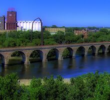 Stone Arch Bridge by shutterbug2010