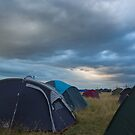 An evening storm brewing over the Campsite by fotdmike