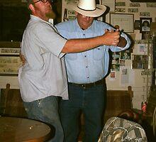 Saturday Night At The Cherry Creek Barrel Saloon by Arla M. Ruggles