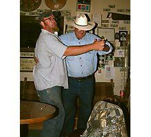 Saturday Night At The Cherry Creek Barrel Saloon Photographic Print