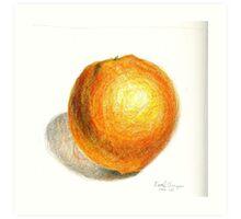 Navel Orange Art Print