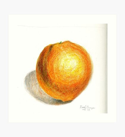 Navel Orange Art Print