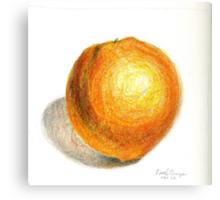 Navel Orange Canvas Print