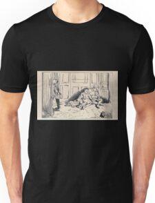 Some Little People George Kringle & Kate Greenaway 1881 0081 Asleep Unisex T-Shirt