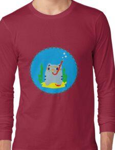 Steve: Under the sea Long Sleeve T-Shirt