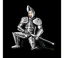 White Knight Photographic Print