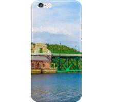 Bridge in Montague, MA iPhone Case/Skin