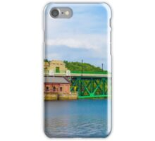 Bridge in Montague, MA iPhone Case/Skin