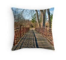A Pleasant Afternoon Stroll Throw Pillow