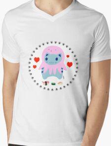 Steve loves sushi Mens V-Neck T-Shirt
