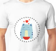 Steve loves noodles! Unisex T-Shirt