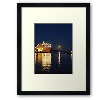 Outshining Framed Print