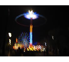 moomba amusement park ride Photographic Print