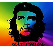 Che Gay Pride Photographic Print