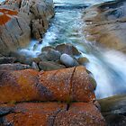 The Flow - Bicheno Tasmania by Hans Kawitzki