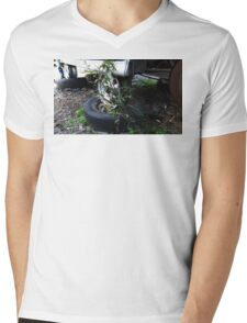 The Coming Of Nature Mens V-Neck T-Shirt