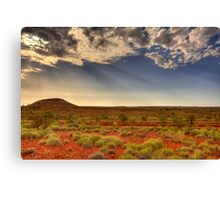 Touching the Land Canvas Print