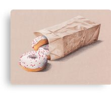 Bag of Doughnuts Canvas Print