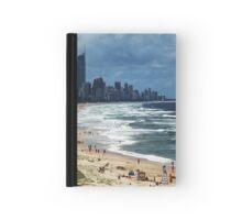 Beach Life Gold Coast Australia Hardcover Journal
