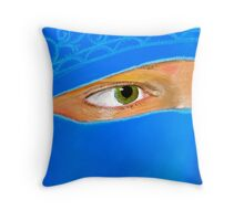 The View of an Eye Throw Pillow