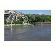2008 Des Moines Flood 2 Art Print