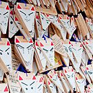 Kitsune Ema's at Fushimi Inari-taisha by F.M. Gore-Kelly