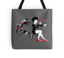 Hair Day for the Black Goth Girl Tote Bag