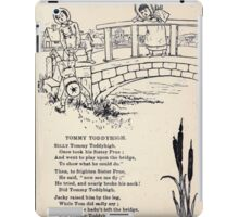 Miniature Under the Window Pictures & Rhymes for Children Kate Greenaway 1880 0013 Tommy Toddyhigh iPad Case/Skin
