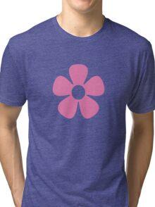 Pink Flower Tri-blend T-Shirt