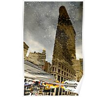 FLAT IRON REFLECTIONS Poster
