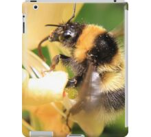 Bumble on the honeysuckle iPad Case/Skin