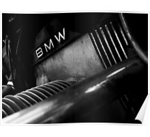 BMW Engine Poster
