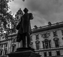 Beautiful London Statue Number One by Ian Mooney