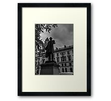 Beautiful London Statue Number One Framed Print