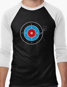 Vinyl Men's Baseball ¾ T-Shirt