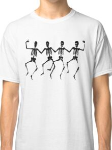 Spooky Scary Skeletons, Silhouette Classic T-Shirt