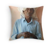 Just resting. Throw Pillow