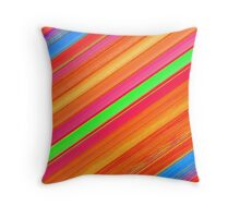 Beautiful Cushions/ Colours Abound Stripes2 Throw Pillow