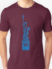 The Statue of Liberty, New York, America, Silhouette T-Shirt