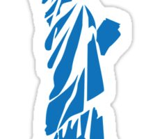 The Statue of Liberty, New York, America, Silhouette Sticker
