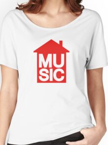 House Music Women's Relaxed Fit T-Shirt