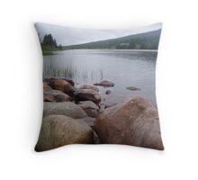 Riverside View - Finland Throw Pillow