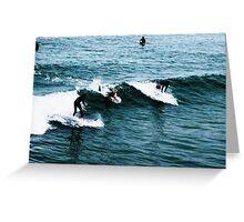 Surfer Boys Greeting Card