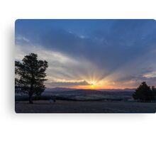 Sunset Brindebellas Canvas Print