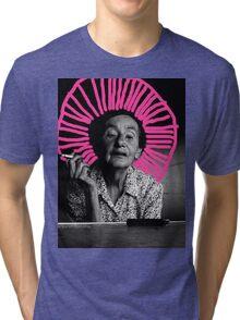 vintage smoking Tri-blend T-Shirt