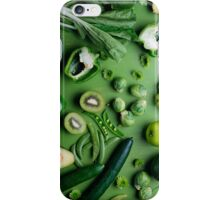 Greed raw food iPhone Case/Skin