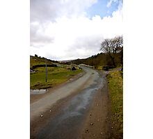 Country Road - Coverdale #1 Photographic Print